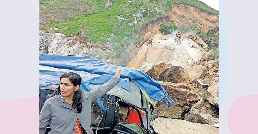 Landslip hits traffic on Kochi-Dhanushkodi NH for two weeks