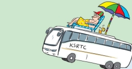 Stay in KSRTC's sleeper bus during your next trip to Munnar