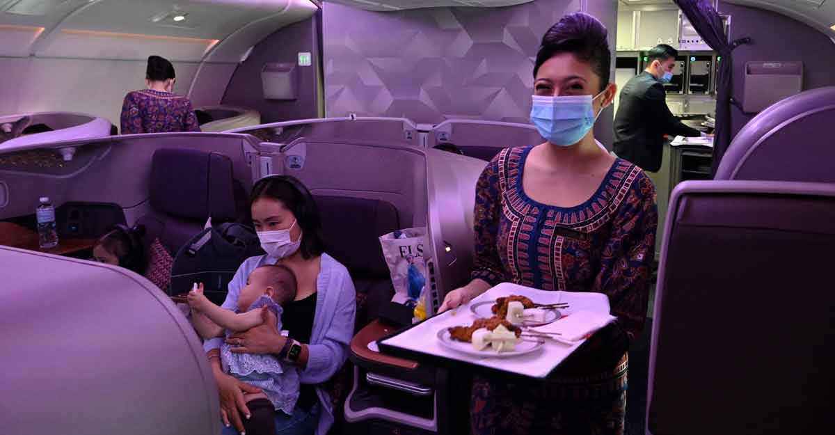 Singapore Airlines converts grounded aircraft into fancy restaurants