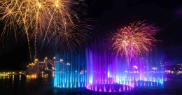 Palm Fountain of Dubai sets Guinness World Record