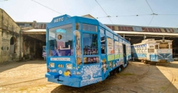 World's first Tramcar for young readers in Kolkata
