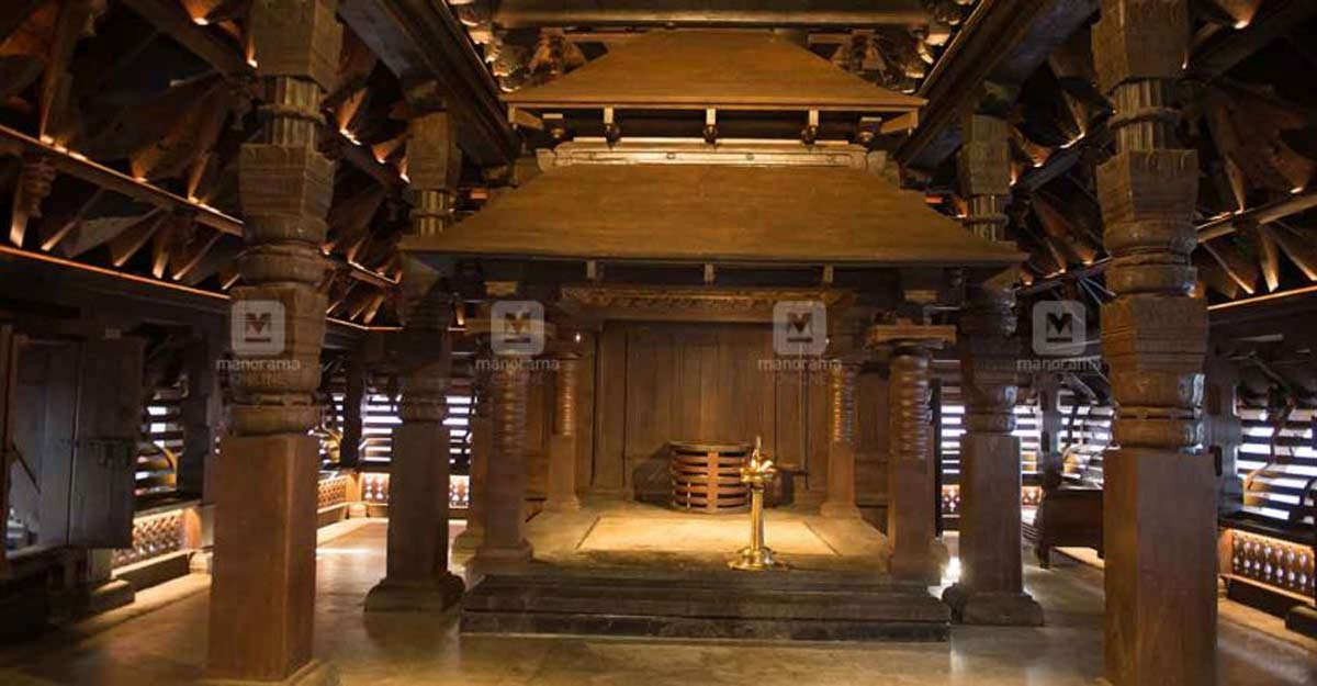UNESCO award for Koothambalam at Guruvayur Temple