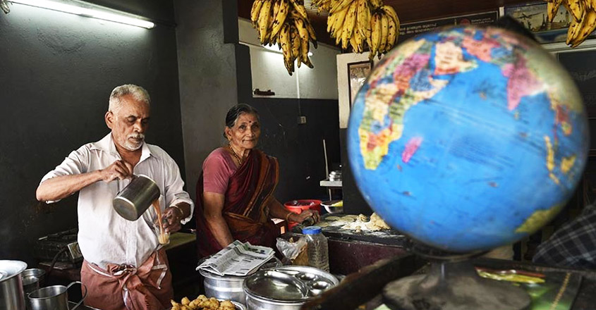 tea seller couple