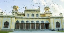 Clock tower of Hyderabad's Chowmahalla Palace collapses in rain
