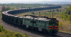 Railways creates history with 'Anaconda goods train'