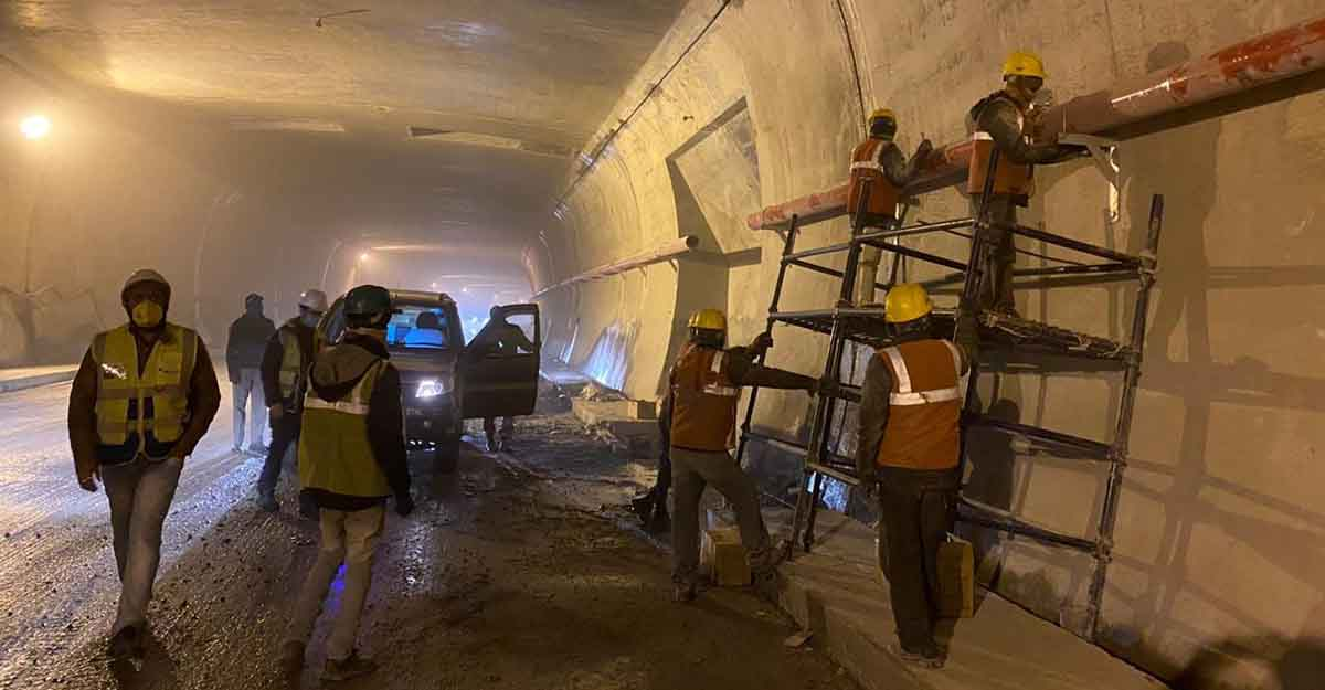 Strategic Rohtang tunnel reaches new length of 9.02 km.
