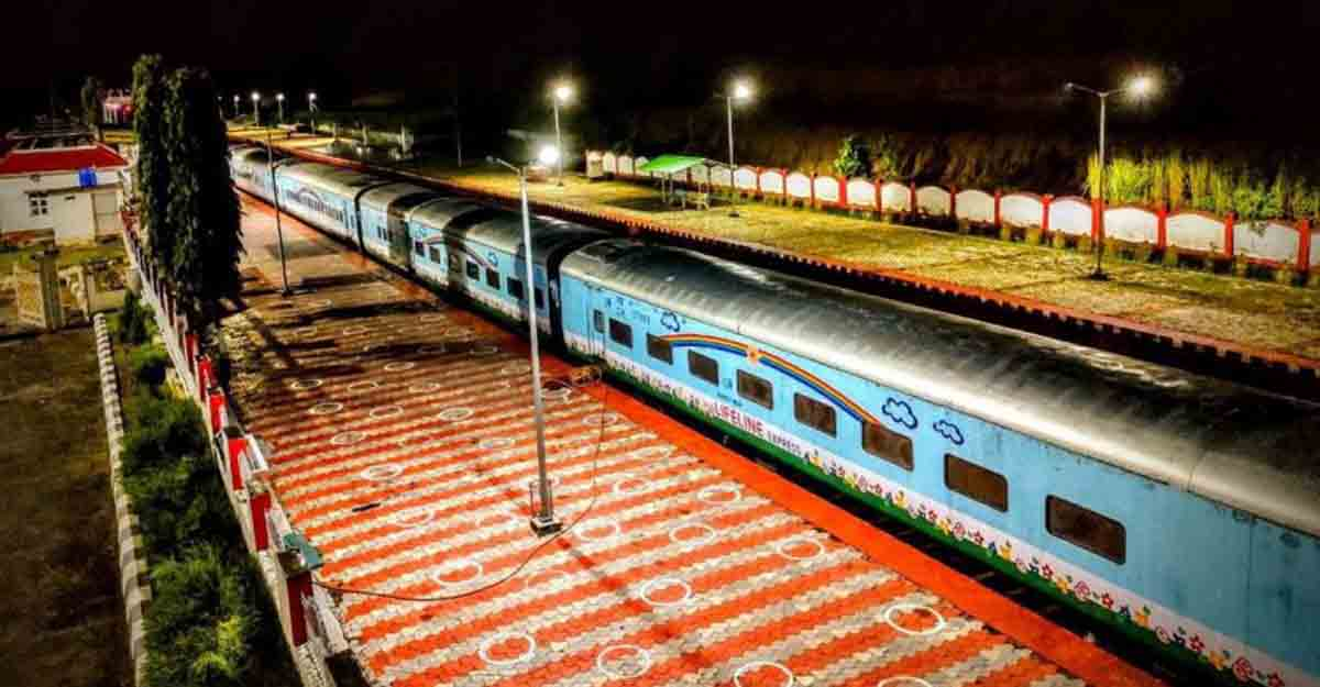 Hospital on wheels: An Express medical train that is the lifeline of rural India