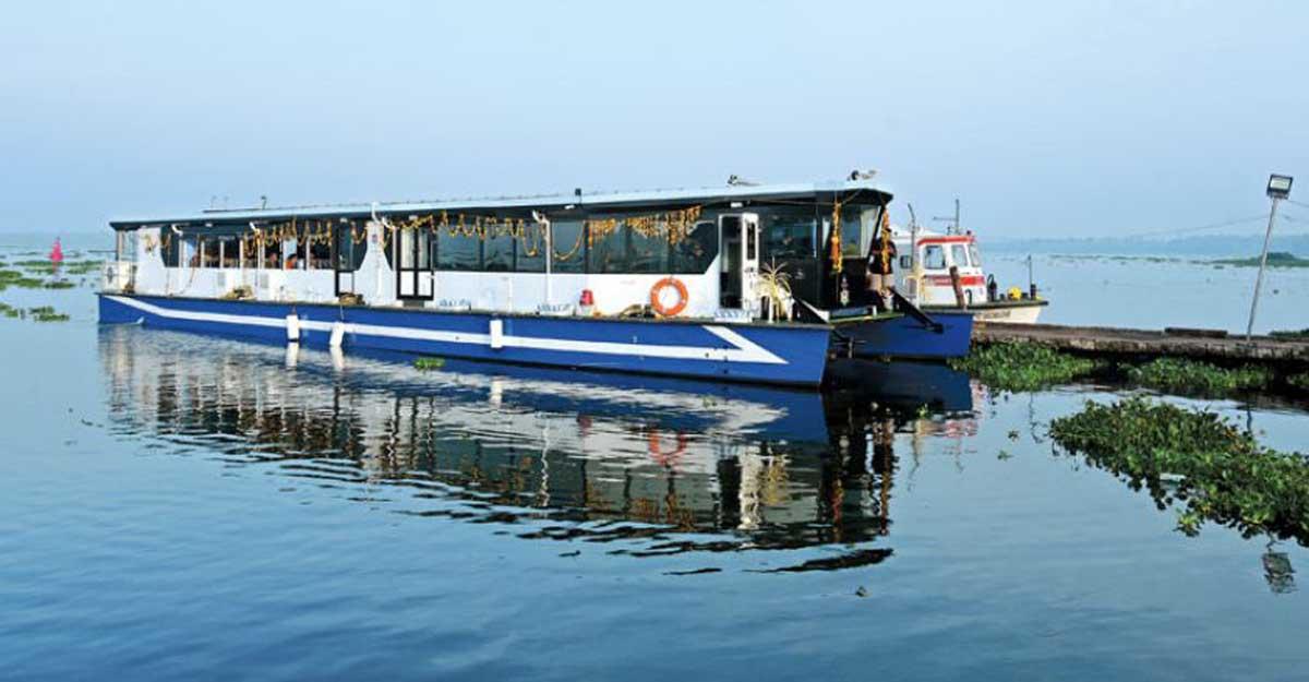 Enjoy the beauty of backwaters, catamaran boat to begin service today