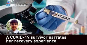A COVID-19 survivor narrates her recovery experience