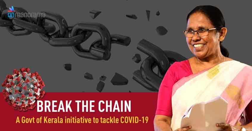 Break the Chain- A Kerala initiative to tackle COVID-19 spread