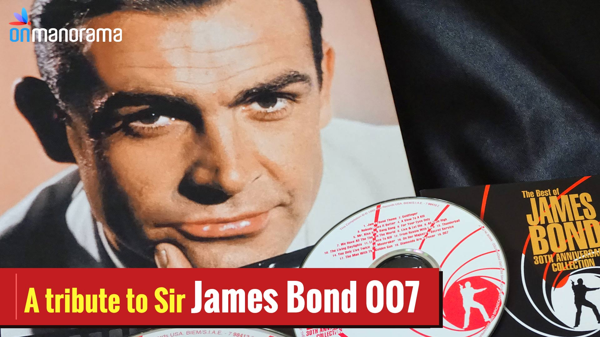 A tribute to Sir James Bond 007