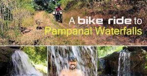 A bike ride to Pampanal Waterfalls in Kottayam