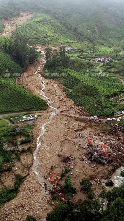 Devastating Pettimudi landslide