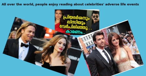 Celebrity divorce