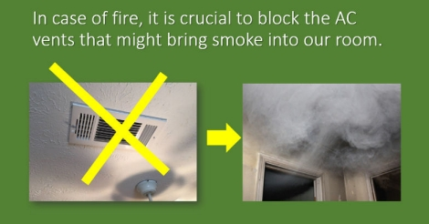 Fire safety: what to do, what not to do