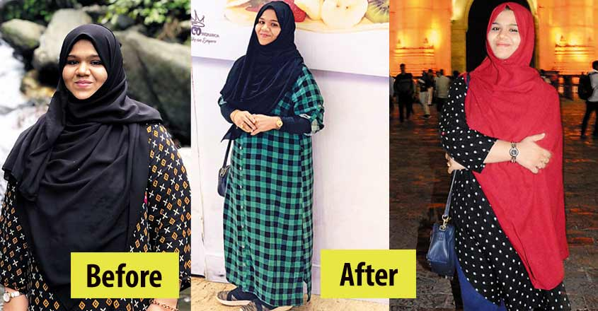 'This is my answer to some people,' says Sajna after losing nearly 30kg