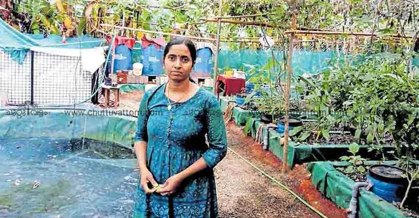 Rekha's unique efforts in pisciculture gain state recognition