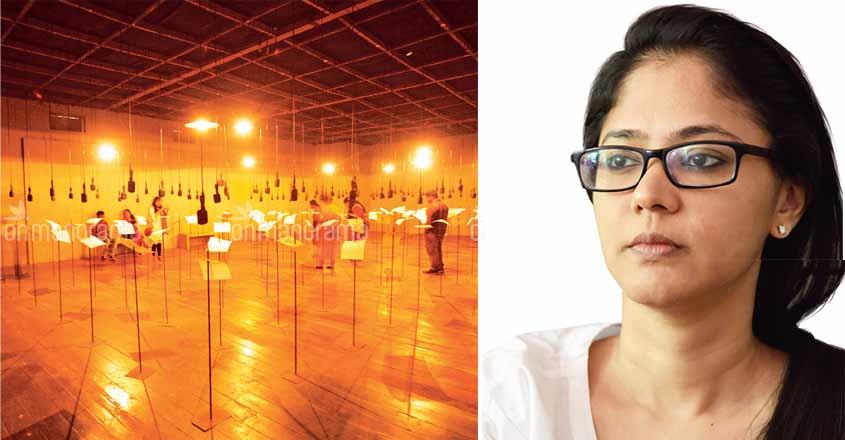 At Biennale, Shilpa Gupta's creations speak for silenced poets