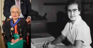 Katherine Johnson, star of African-American women empowerment