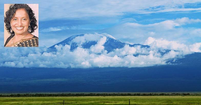 Keralite woman climbs Mount Kilimanjaro in Africa