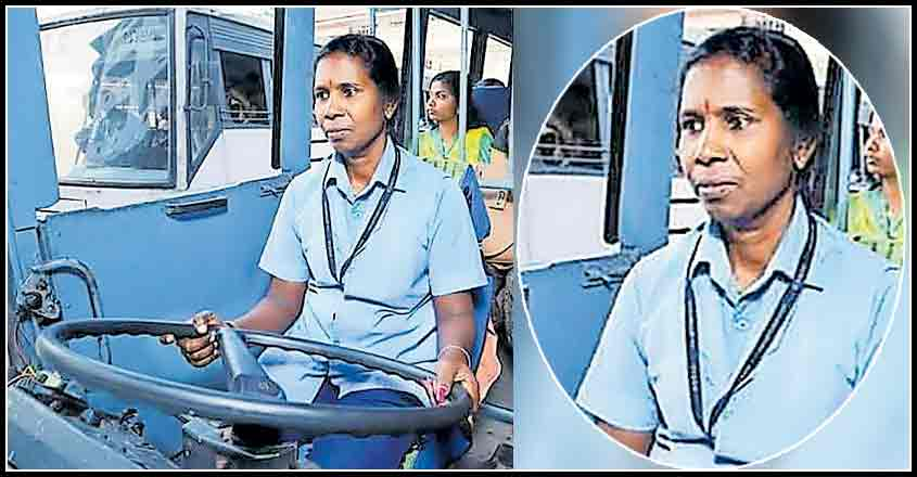 Here's the first woman to drive a KSRTC superfast bus