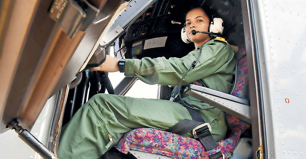 A dream come true for Shivangi, first woman pilot of Indian Navy
