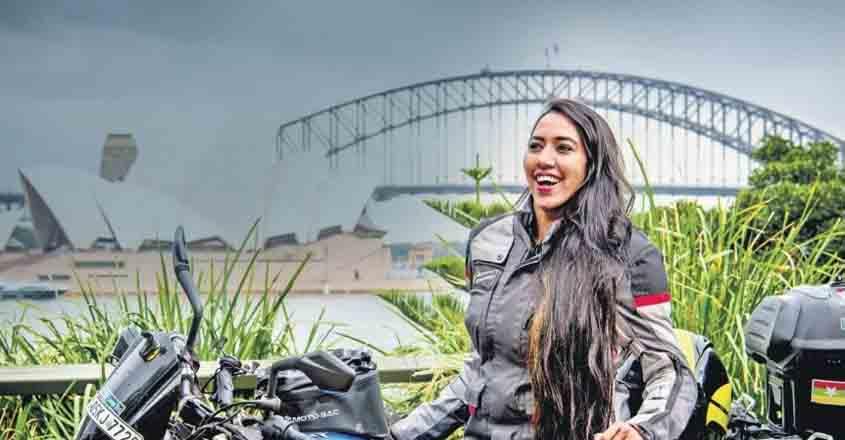women-biker