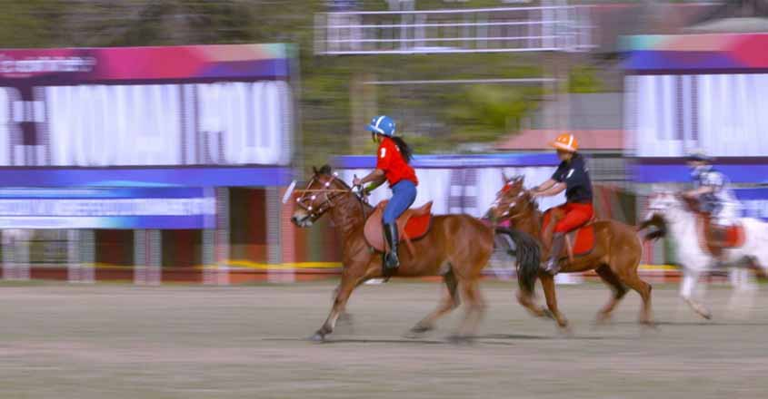 Inspired by their men relatives, these women from humble backgrounds now field five professional polo teams to compete with the world's best.