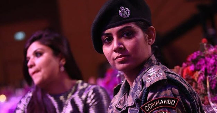 Usha Kiran, the youngest female CRPF officer to become a part of Commando Battalion for Resolute Action (CoBRA) and currently serving in the volatile Bastar region of Chhattisgarh.
