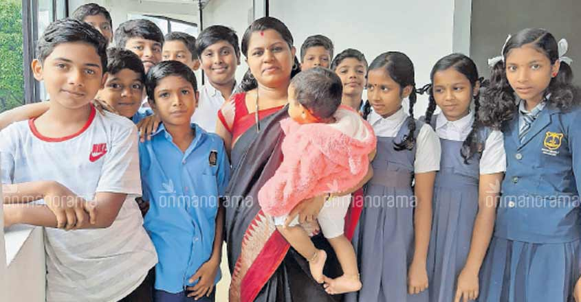 She quit being a teacher to guide children to better future