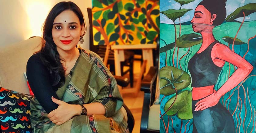 Reflecting the deepest thoughts of women through art