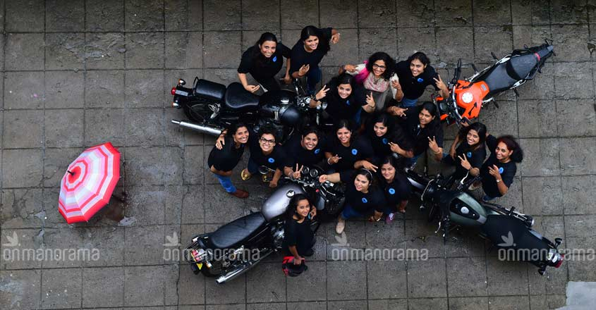 Women bike riders' group has big dreams as it turns one