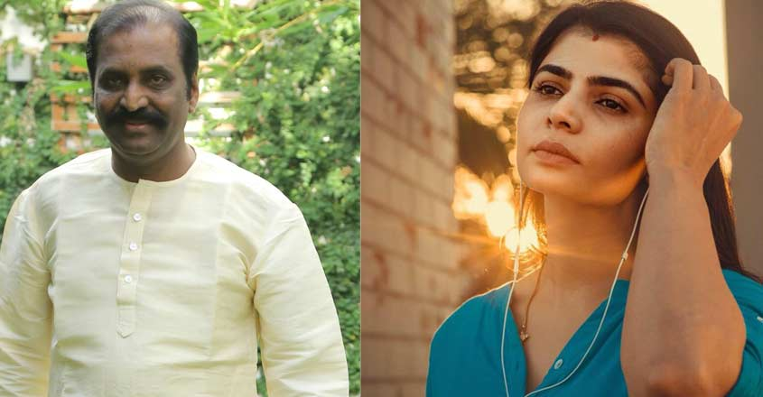 Singer Chinmayi names Vairamuthu in #MeToo, Siddarth tweets support