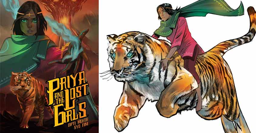Female comic superhero fights India's sex traffickers, challenges stigma