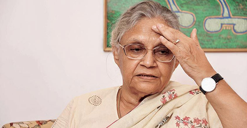 Nirbhaya incident forced unwell Sheila Dikshit to junk resignation plan