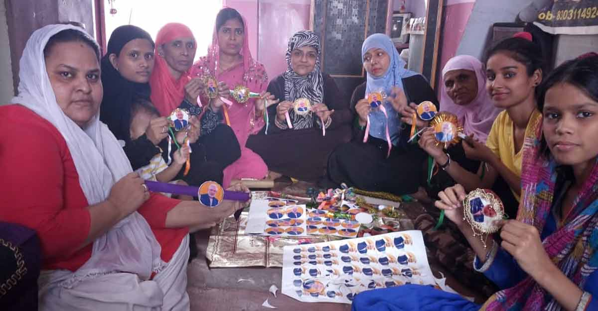 Muslim women in Varanasi send 'rakhis' to Modi