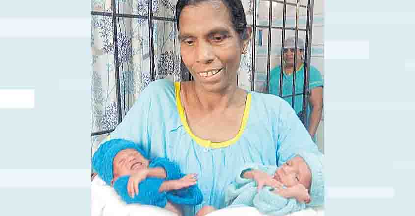 Kerala woman becomes mother at 54 after losing only son to accident