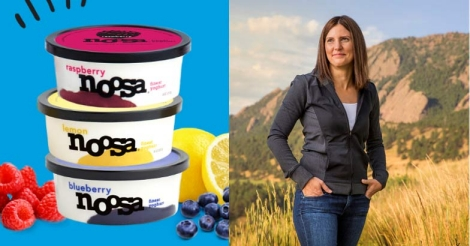 This $170 million company owner found her dream in a spoon of yogurt