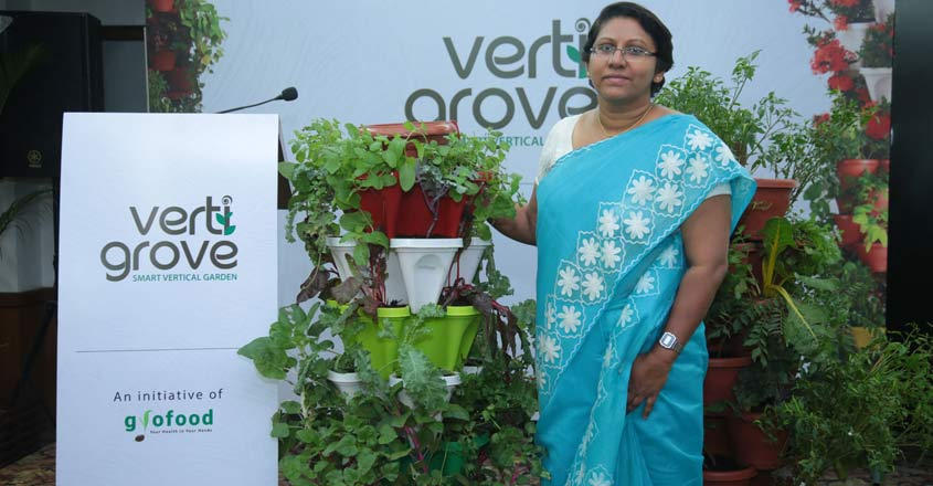 Kochi woman's innovative venture lets your grow your own food in your house